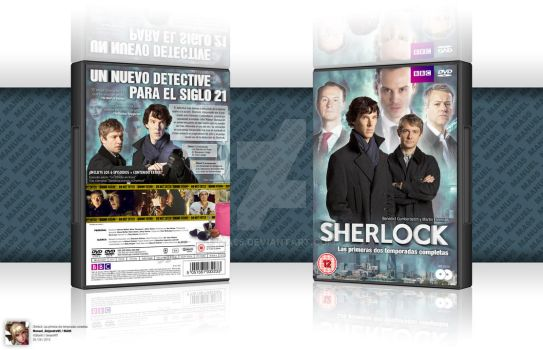 'Sherlock: the First Two Seasons' DVD Cover by MA95