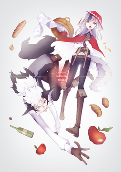 Fire Emblem Fates - Keaton and Velouria by Erumi-n
