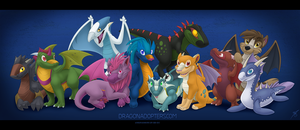 The Dragonadopters Gang Update by thazumi