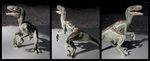 Papo - Deinonychus Model by The-Toy-Chest