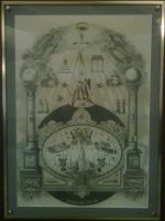 Masonic Tracing Board by WCMaxwell