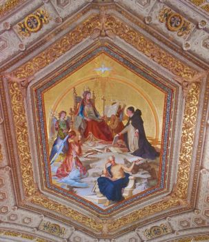 Ceiling Painting of St. Thomas by Rayelity