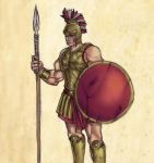 Etruscan Hoplite by CiLiNDr0