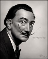 Salvador Dali by Eithne81