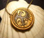 BL2 : Lilith the Firehawk - Necklace by Ganjamira