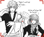 OTP Challenge- 01. Holding hands by Aleude
