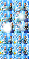MMD Frozen-PKMN Comic - Mom Elsa by JackFrostOverland