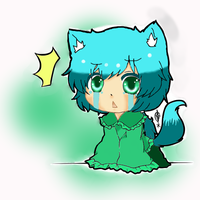 Teary Neko Chibi by CornerOtaku on DeviantArt