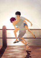 RinHaru Week - Day 3 - To be free... by Yohao88