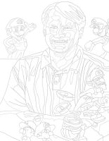 Charles Martinet pen by daylover1313