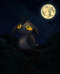 Owl Creature #3 by Dreamprotected