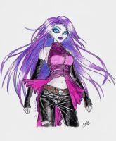 Monster High  Spectra by LeyreyDani
