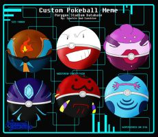 PGO - Custom Pokeballs by TotalRequestNever