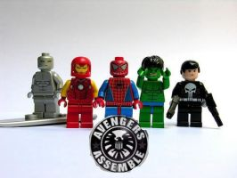lego super heroes minifigures? by megasonicbros