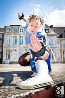 Martine fait du Streetfighter by kn8e