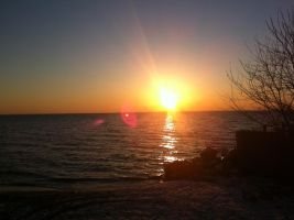 Alcona Sunrise by dlighted
