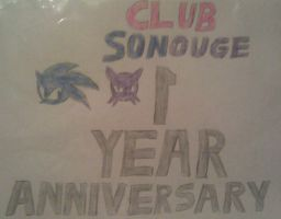 ClubSonouge 1 Year Anniversary by A5L