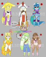 Themed Adopts: Digimon Style OPEN by Seilie