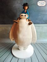 Big Hero 6 cake by laylah22