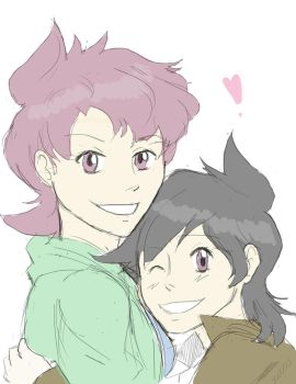 Tessa and her mom :'3 by Aster129