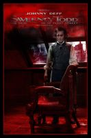 Sweeney Todd Movie Poster VI by Rickbw1