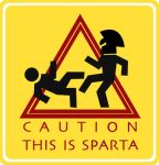Sparta Sign by discipleofmalice