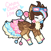 Candy Candy Love Tranceling AUCTION [2 hrs left] by celexte