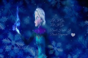 Frozen Elsa Let It Go ~ Merry Christmas by thebestestwolfluver