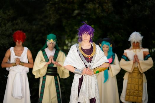 Magi ~ Sinbad and the Generals by Yamato-Leaphere