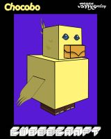 Chocobo Cubee by Flames2Earth