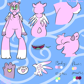 Tammi Updated Reference Sheet by TheAlpacaQueen