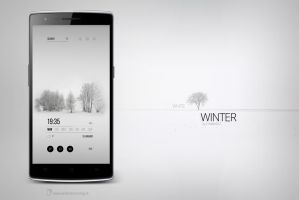White Winter Theme by marcco23
