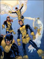 X-men colors by LTartist