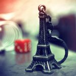 Eiffel mini tower by rashadalawi