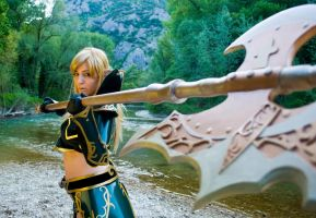 Lineage II_Fight by CalipsoCosplay