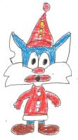 Furball the Clown by dth1971