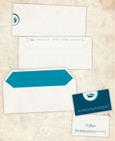 Corporate I.D-Envelope and B.C by melito