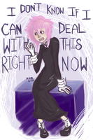 Crona being Crona by Razors-And-Lace