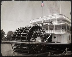 Riverboat, Sacramento by FightTheAssimilation