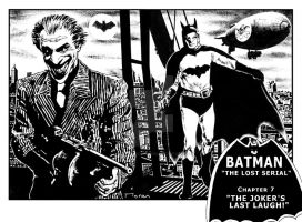 BATMAN - THE LOST SERIAL 1 by VOODOOVISION-STUDIO