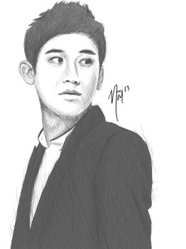 COLLAGE - Jaeseop Kim Sketch by seopsquared