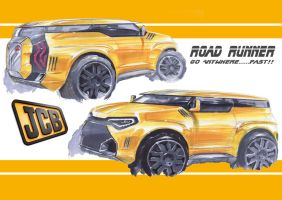 JCB Road Runner 4x4 by KingEagle