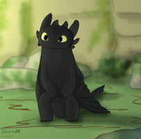 Toothless by Dave-White