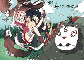 Road to Ninja The Doujin Chapter 1 Cover by AsakuraPinkPower