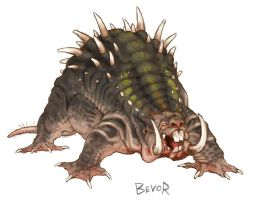 Wallow concept from Guild Wars by goosezilla