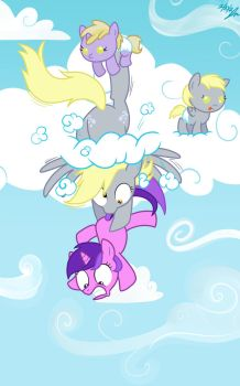 Derps in the Sky by ScruffyToto