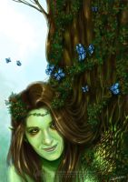 Dryad by CristianaLeone
