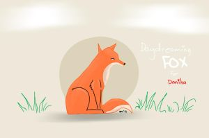 Animal Friends - Daydreaming Fox by resresres