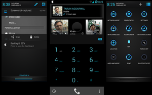 Radient Blue Theme Update For CM11 by nitinvaid20