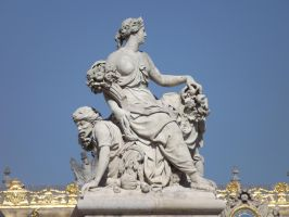 Statue at Versailles by LadyScale